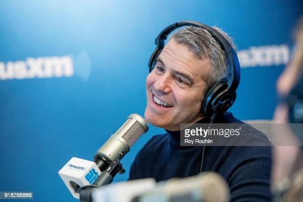 Andy Cohen hosts Talk Andy at SiriusXM Studios on February 14 2018 in New York City