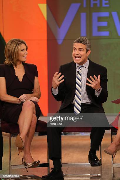 THE VIEW Andy Cohen is a guest cohost on THE VIEW 12/1/14 airing on the Walt Disney Television via Getty Images Television Network
