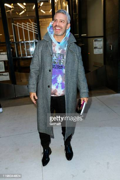 Andy Cohen is seen on January 08, 2020 in New York City.