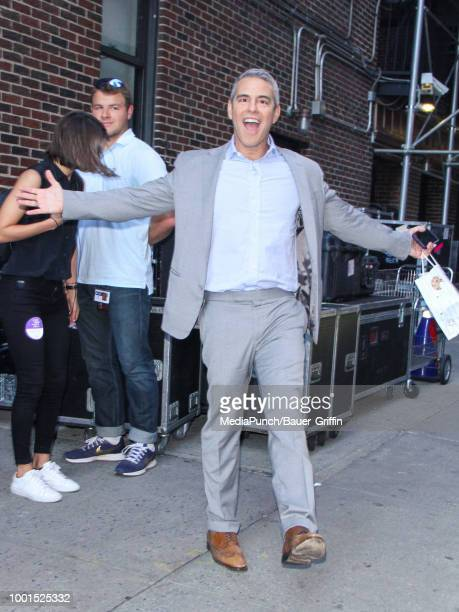 Andy Cohen is seen on July 18 2018 in New York City