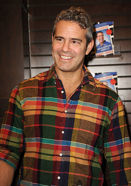 """Andy Cohen Signs Copies Of His Book """"Most Talkative ..."""