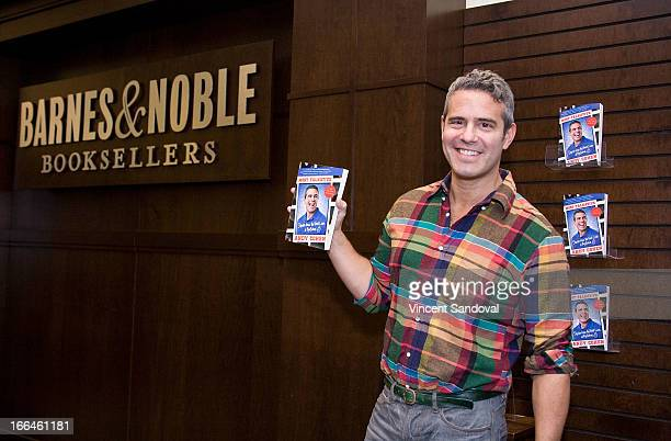 """Andy Cohen signs copies of his new book """"Most Talkative"""" at Barnes & Noble bookstore at The Grove on April 12, 2013 in Los Angeles, California."""