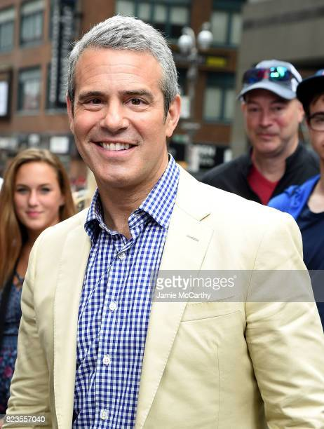 Andy Cohen visits Extra on July 27 2017 in New York City
