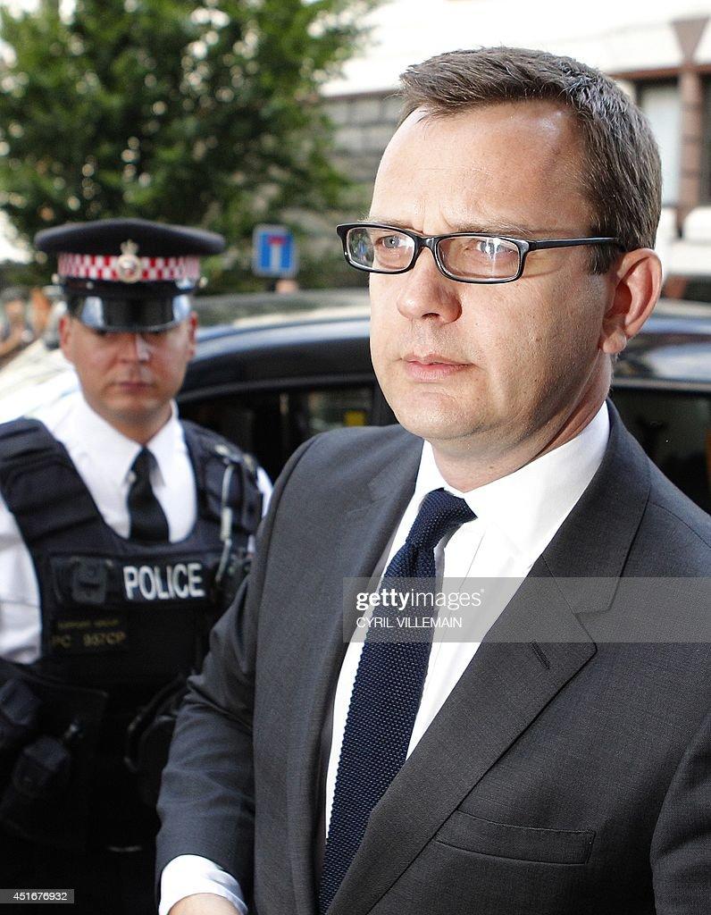 BRITAIN-MEDIA-POLITICS-TRIAL : News Photo