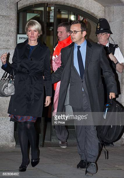 Andy Coulson leaves the Old Bailey with wife Eloise after it was revealed that Coulson Brooks had a six year affair on October 30 2013 Brooks will...