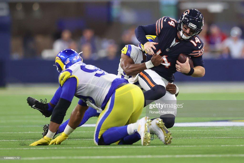 Chicago Bears v Los Angeles Rams : News Photo