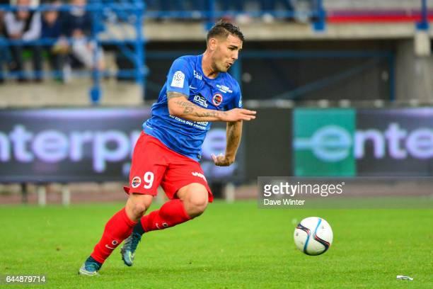 Andy DELORT Caen / Saint Etienne Ligue 1 9e journee Photo Dave Winter / Icon Sport