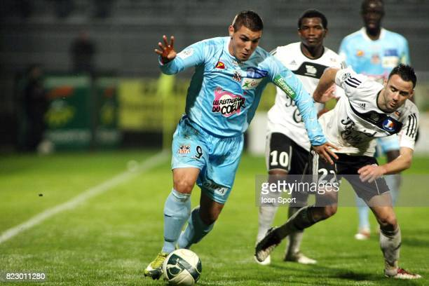 Andy DELORT / Aurelien FAIVRE Vannes / Ajaccio 25e journee Ligue 2