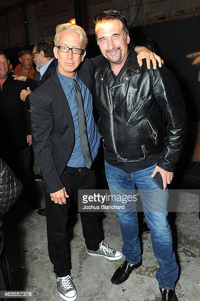 Andy Dick and Daniel Baldwin attend the official wrap party for 'The Head Thieves' at The Golden Box on February 15 2015 in Hollywood California