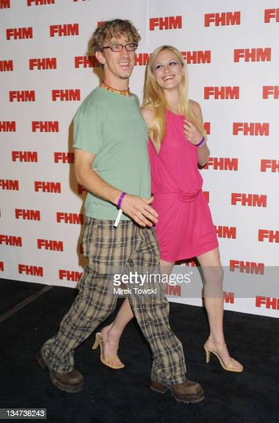 Andy Dick and girlfriend Lisa during FHM Magazine Party Celebrating 100 Sexiest Women in the World at La Boheme in West Hollywood California United...