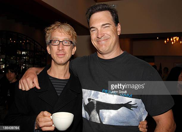 Andy Dick and Patrick Warburton during Los Angeles Premiere of LionsGate's 'Happily N'Ever After' Hosted by the Hot Moms Club at The Mann Festival...