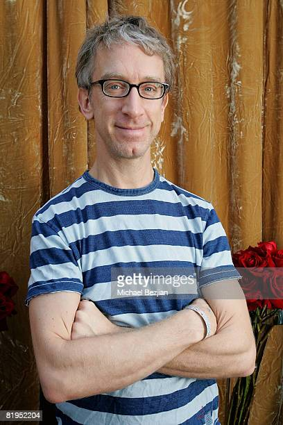 Andy Dick arrives at the Friends in High Places AMA Sanctuary Lounge