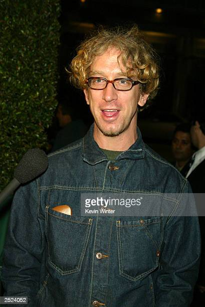 Andy Dick at the premiere of The Ring at the Bruin Theatre and afterparty at the Garden in Westwood Ca Wednesday Oct 9 2002 Photo by Kevin...