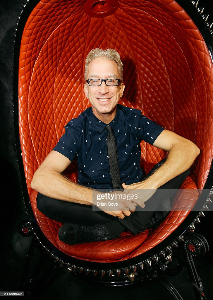 Andy Dick attends the opening of Galerie Montaigne on February 19, 2016 in West Hollywood, California.
