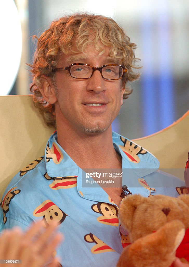 Andy Dick during Andy Dick, Ashanti, and FeFe Dobson Visit MTV's 'TRL' - July 12, 2004 at MTV Studios in New York City, New York, United States.