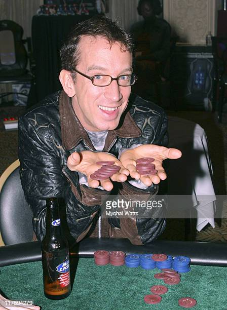 Andy Dick during Bravo's 2006 Celebrity Poker Showdown Day 2 at Harrah's in New Orleans Louisiana United States