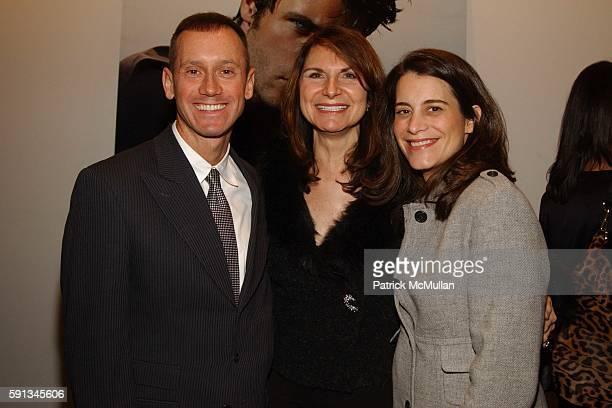 Andy Eddins Charlene Holt and Marni Sherman attend YSL Beaute/Ermengildo Zegna Fragrance Launch at The Modern on February 1 2005 in New York City