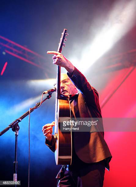 Andy Fairweather Low and the Low Riders perform on Day 1 of Wickham Festival on August 6 2015 in Wickham England