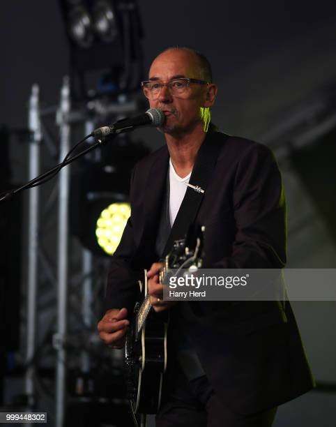 Andy Fairweather Low performs at Cornbury Festival at Great Tew Park on July 15 2018 in Oxford England