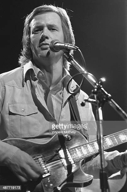 Andy Fairweather Low performs on stage at the Royal Albert Hall London 1976