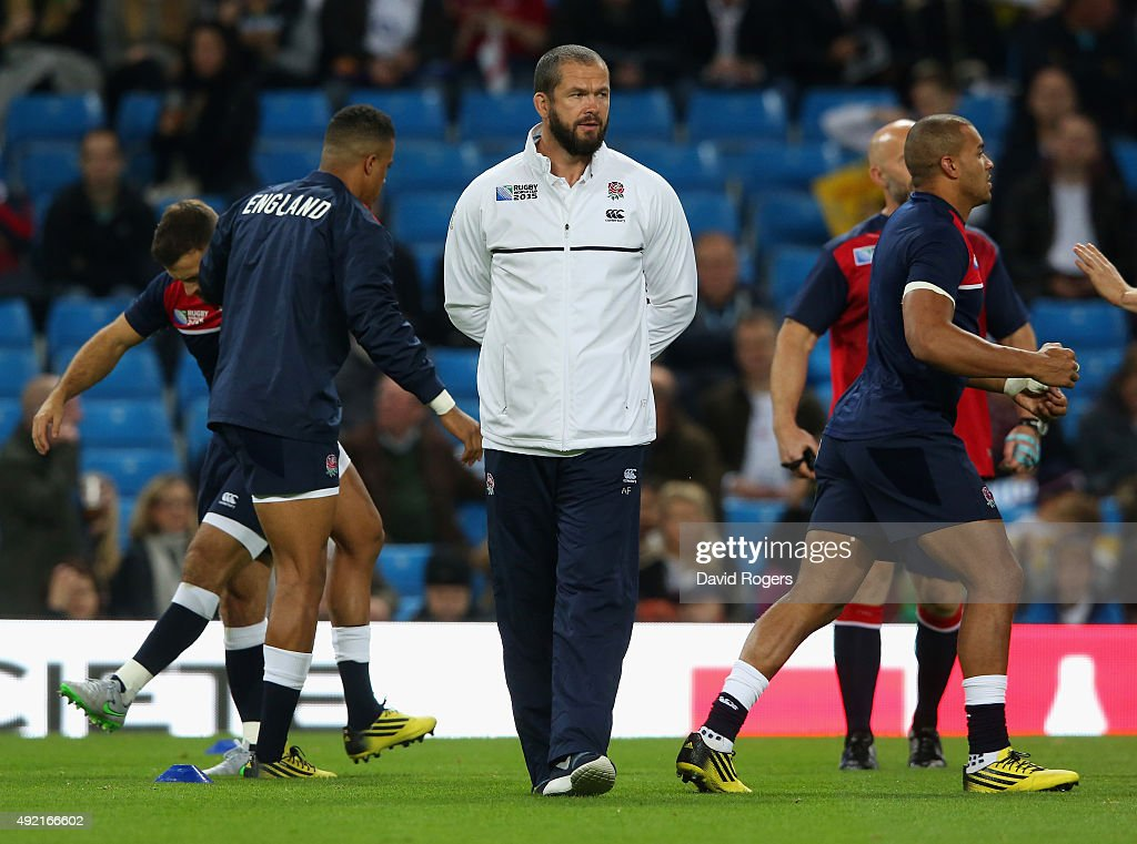 England v Uruguay - Group A: Rugby World Cup 2015 : News Photo