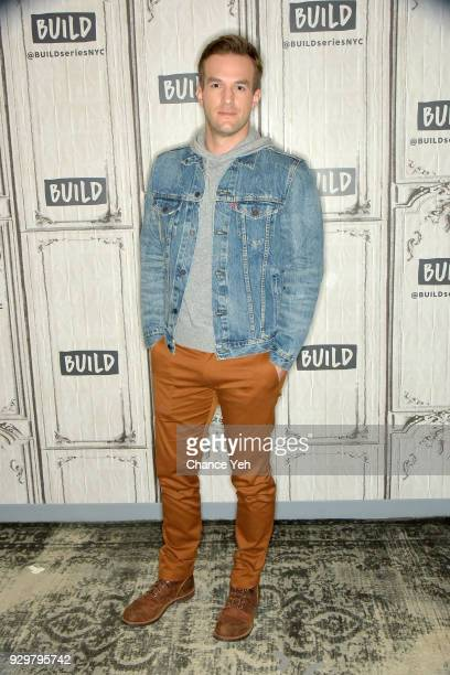 Andy Favreau attends Build series to discuss 'Champions' at Build Studio on March 9 2018 in New York City