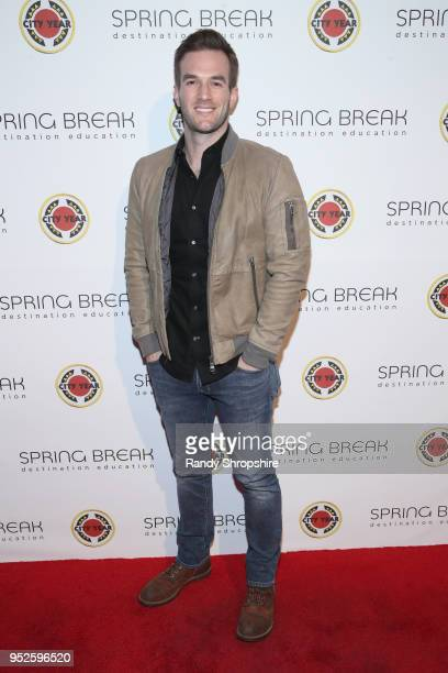Andy Favreau attends City Year Los Angeles' Spring Break Destination Education at Sony Studios on April 28 2018 in Los Angeles California