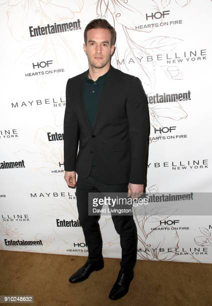 Andy Favreau attends Entertainment Weekly's Screen Actors Guild Award Nominees Celebration sponsored by Maybelline New York at Chateau Marmont on...