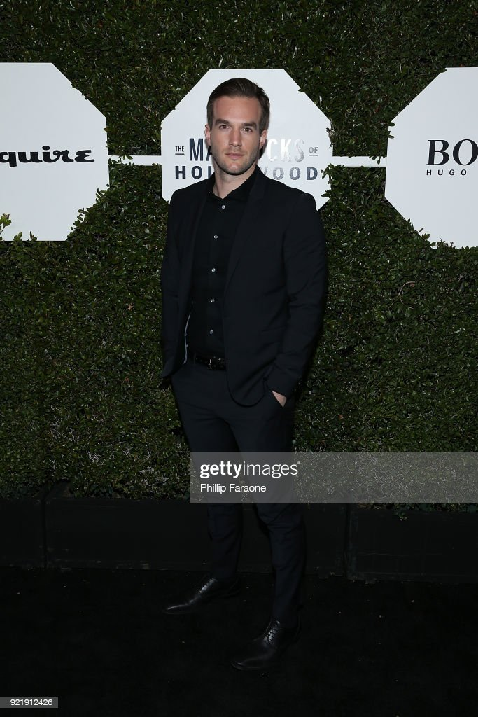 Andy Favreau attends Esquire's Annual Maverick's of Hollywood at Sunset Tower on February 20, 2018 in Los Angeles, California.