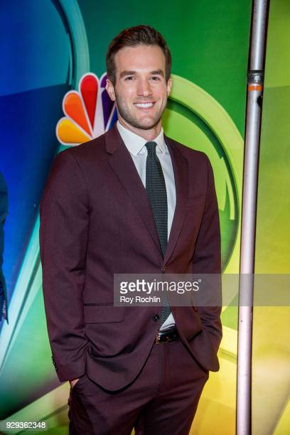Andy Favreau attends NBC's New York mid season press junket at Four Seasons Hotel New York on March 8 2018 in New York City