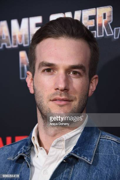 Andy Favreau attends the premiere of Netflix's 'Game Over Man' at Regency Village Theatre on March 21 2018 in Westwood California