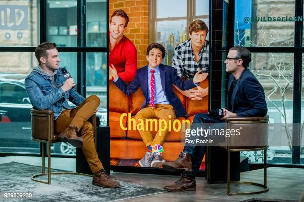 Andy Favreau discusses 'Champions' with the Build Series at Build Studio on March 9 2018 in New York City