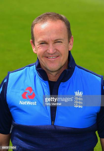 Andy Flower of England Lions during the England Lions Nets session at Trent Bridge on May 31 2017 in Nottingham England