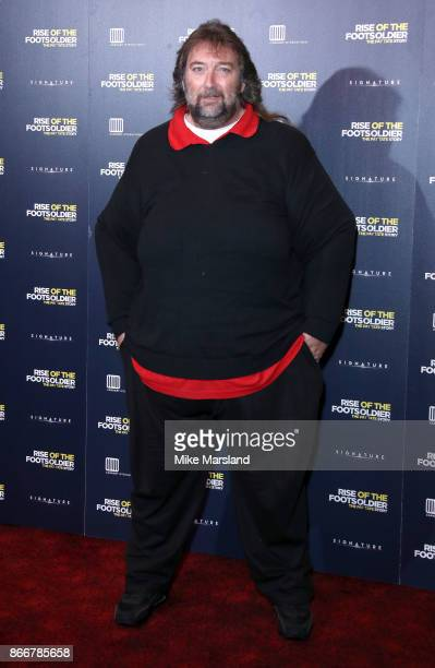 Andy Fordham arriving at the UK Premiere of 'Rise of the Footsoldier 3 The Pat Tate Story' at Cineworld Leicester Square on October 26 2017 in London...