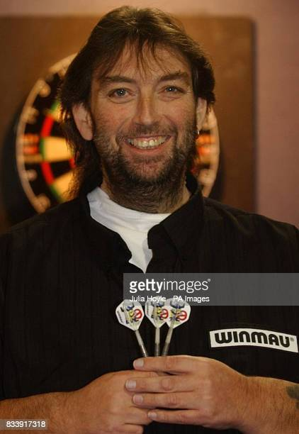 Andy Fordham practices at Leisure World in Bridlington East Yorkshire