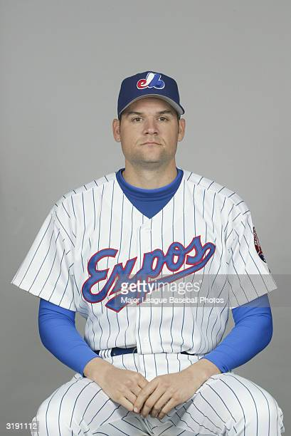 Andy Fox of the Montreal Expos on February 28 2004 in Viera Florida