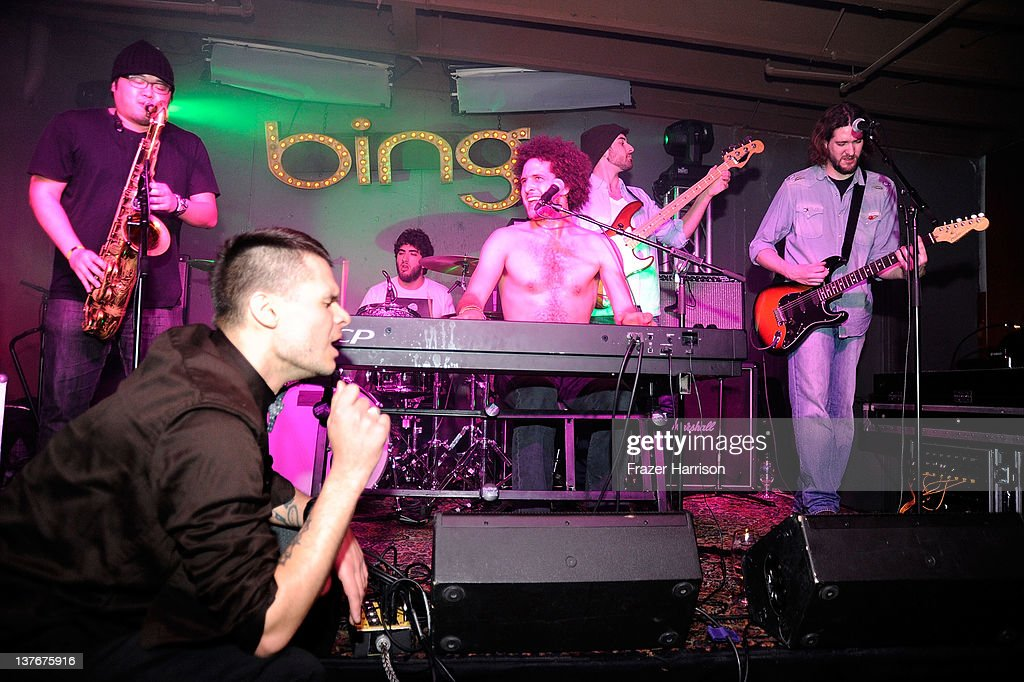 Andy Frasco performs at The Bing Bar presented by Stella