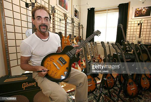 Andy Fraser during Epiphone Supports Free Forever DVD Launch to Mark 30 Years Since the Passing of Free Lead Guitarist Paul Kossoff in London