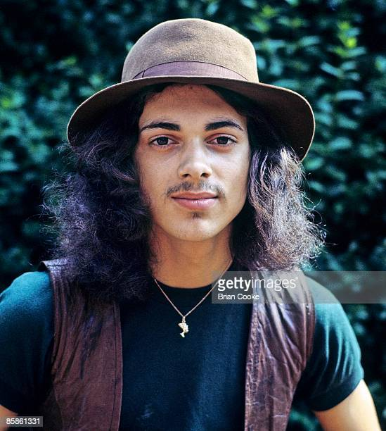 Andy Fraser ex Free bassist during the time of his band Toby at his home in Horsell Nr Woking on August 18 1971