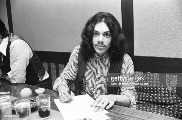 Andy Fraser is interviewed at a Japanese Restaurant April 1970