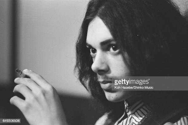 Andy Fraser is interviewed smoking at a Japanese Restaurant April 1970