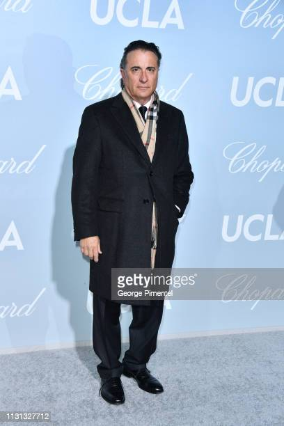 Andy García arrives at the 2019 Hollywood For Science Gala at Private Residence on February 21 2019 in Los Angeles California