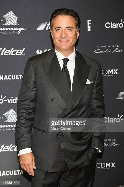 Andy García attends the Sophia Loren's 80th birthday dinner at Museo Soumaya on September 20 2014 in Mexico City Mexico