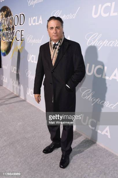 Andy García attends the UCLA IoES honors Barbra Streisand and Gisele Bundchen at the 2019 Hollywood for Science Gala on February 21 2019 in Beverly...