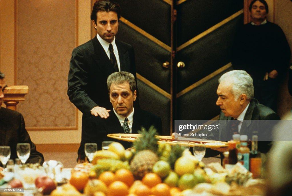 Andy Garcia and Al Pacino : News Photo