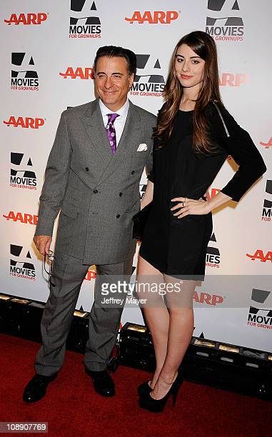Andy Garcia and Daniella Garcia Lorido attend the AARP The Magazine's 10th Annual Movies for Grownups Award Gala at The Beverly Hilton hotel on...