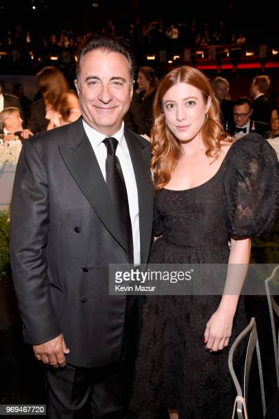 Andy Garcia and Daniella GarciaLorido attend the American Film Institute's 46th Life Achievement Award Gala Tribute to George Clooney at Dolby...