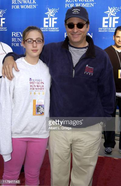 Andy Garcia and daughter Daniella during The 9th Annual Revlon Run/Walk For Women at Los Angeles Memorial Coliseum in Los Angeles California United...