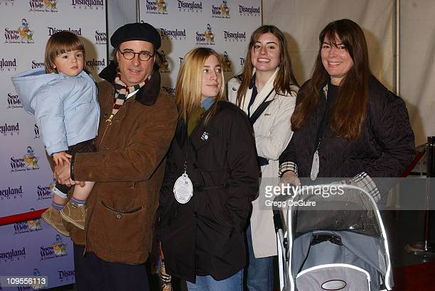 Andy Garcia and family during 'Snow White An Enchanting New Musical' Premiere Arrivals at Fantasyland Theatre at Disneyland in Anaheim California...