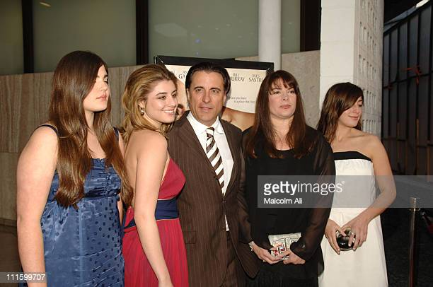 Andy Garcia and Family during 'The Lost City' Los Angeles Premiere Arrivals at Arclight Cinemas in Hollywood California United States
